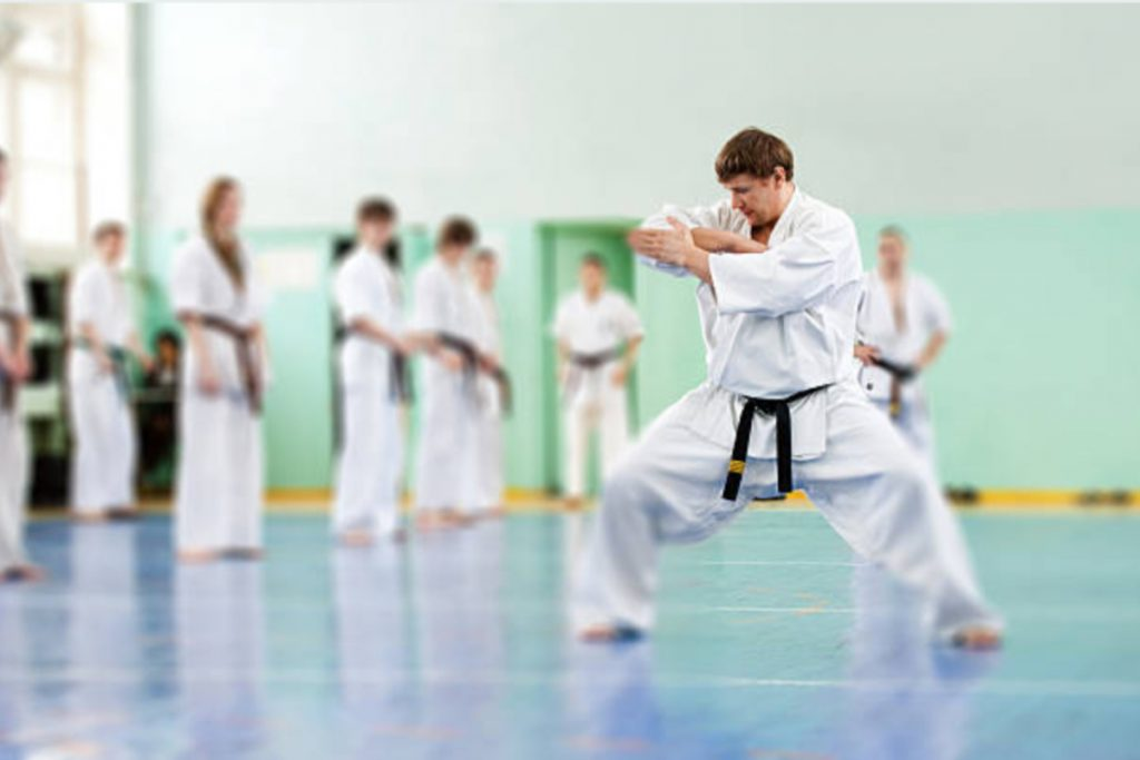 Karate classes for adults